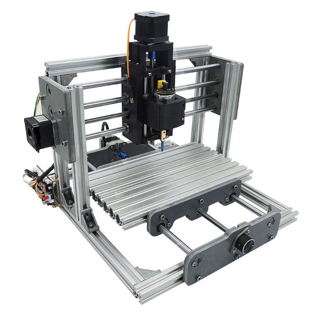 Mini DIY CNC Router Machine for Wood, Plastic or Acrylic Engraving with 3 Axis