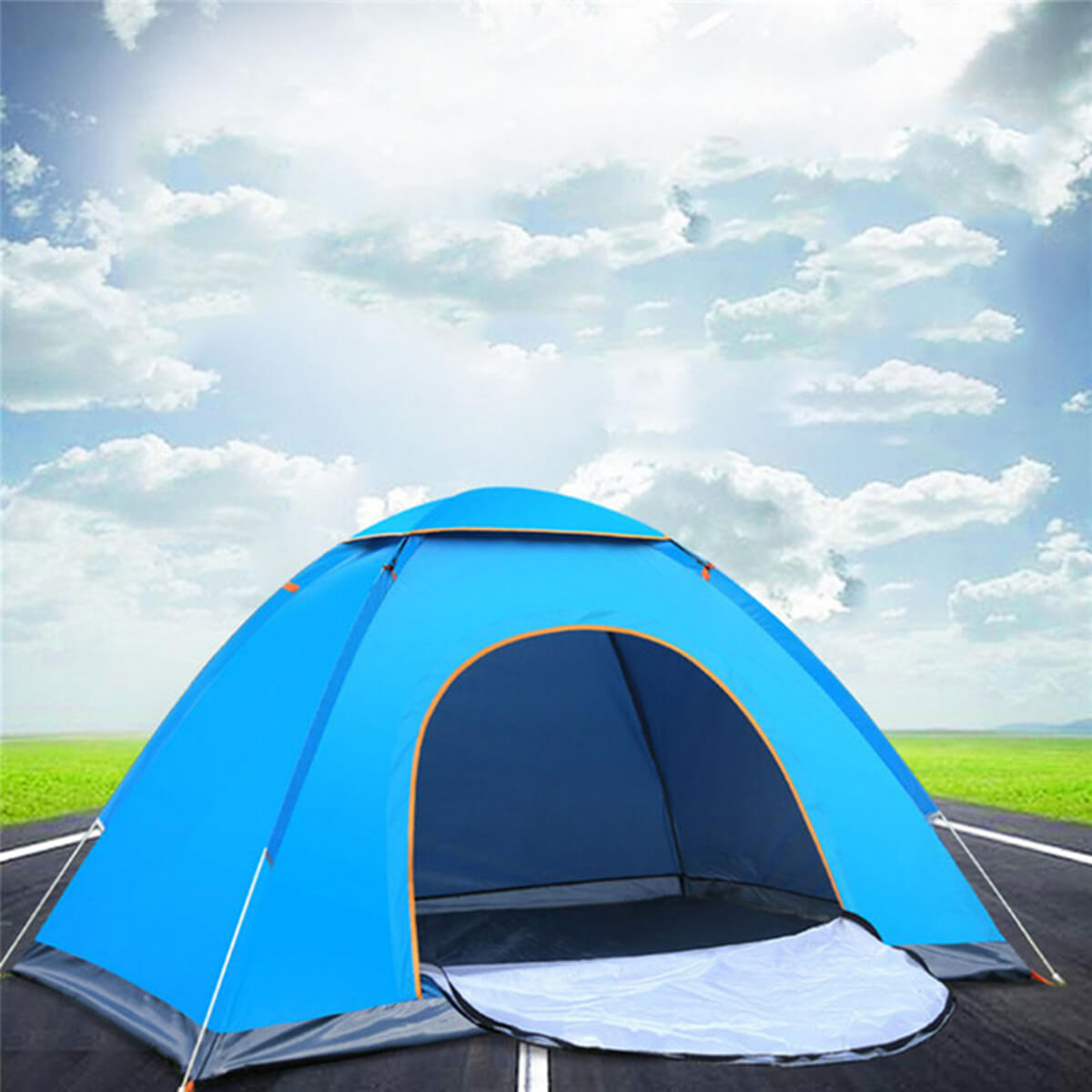 Outdoorz™ Automatic Camping Tent for Outdoor, Travel, and Hiking