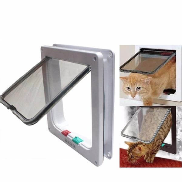 PetFriend™ Cat and Dog Flap Door with 4 Locking System