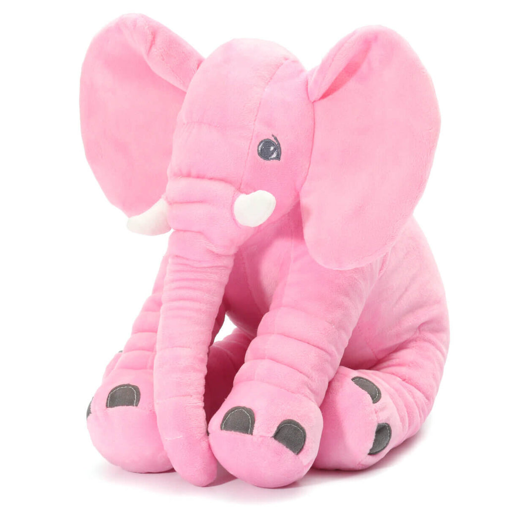 Pink AnimalLove™ Stuffed Animal Elephant Pillow for Toddlers, Infants or Kids