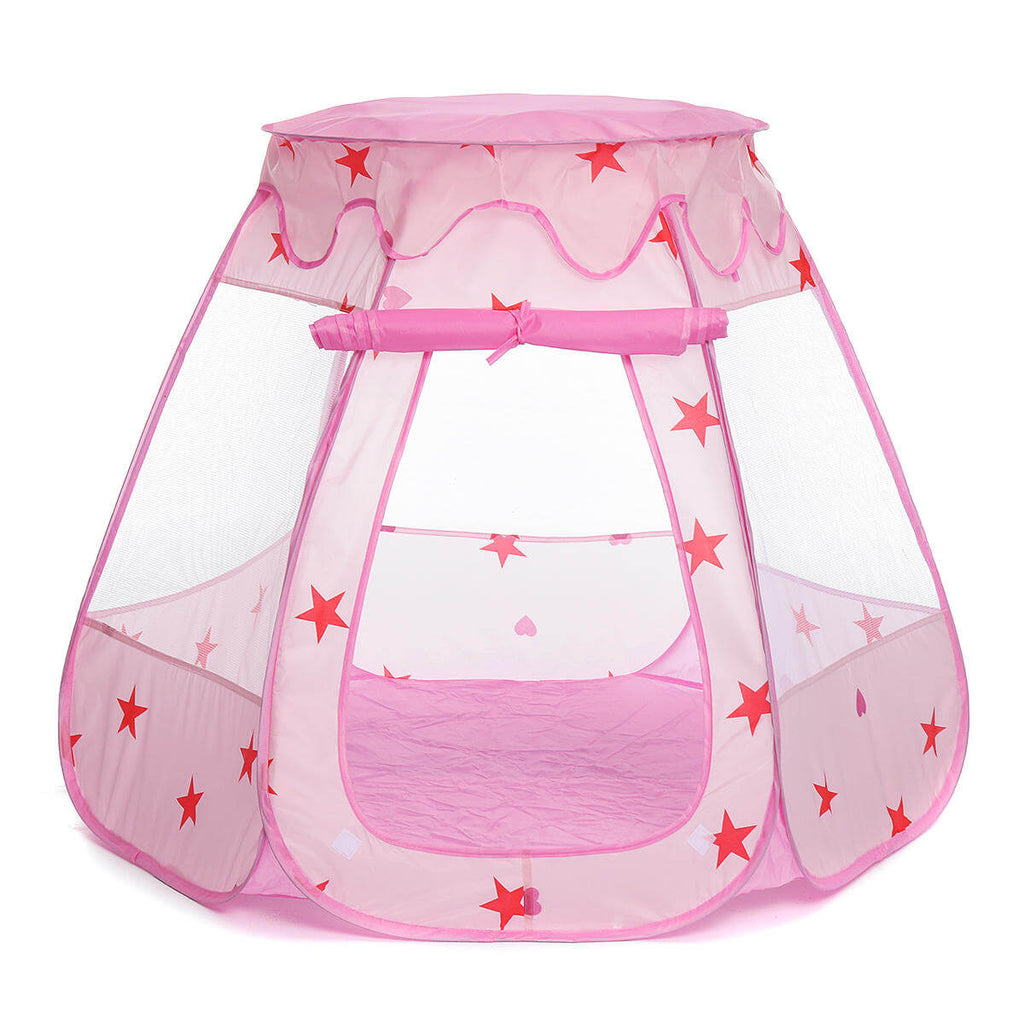 Pink TentRus™ Tent and Ball Pit for Baby, Toddlers, or Kids
