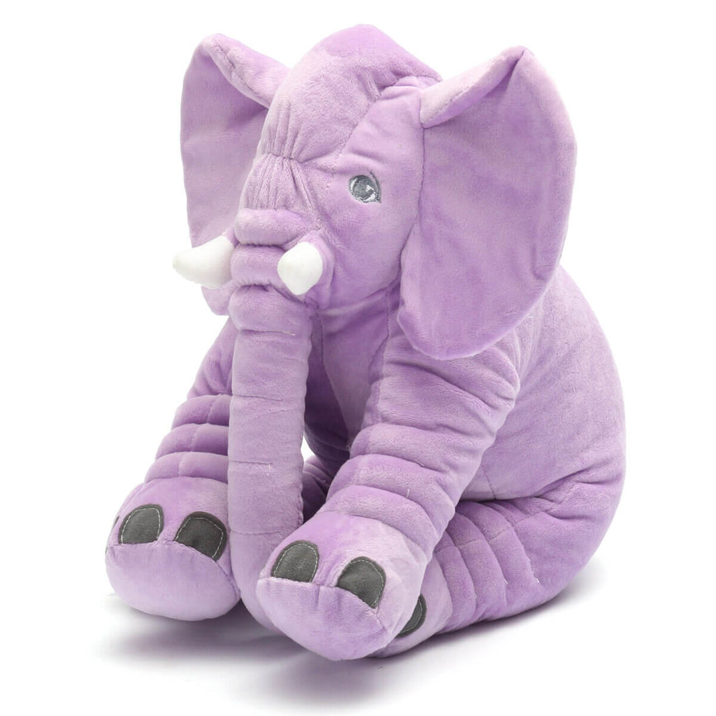 Purple AnimalLove™ Stuffed Animal Elephant Pillow for Toddlers, Infants or Kids