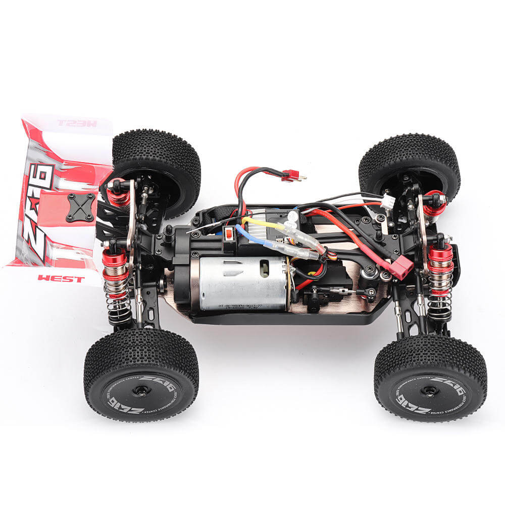 RCmind™ RC car with High-Speed 4WD for Off-Road Motor