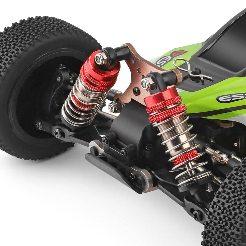 RCmind™ RC car with High-Speed 4WD for Off-Road Front Shock