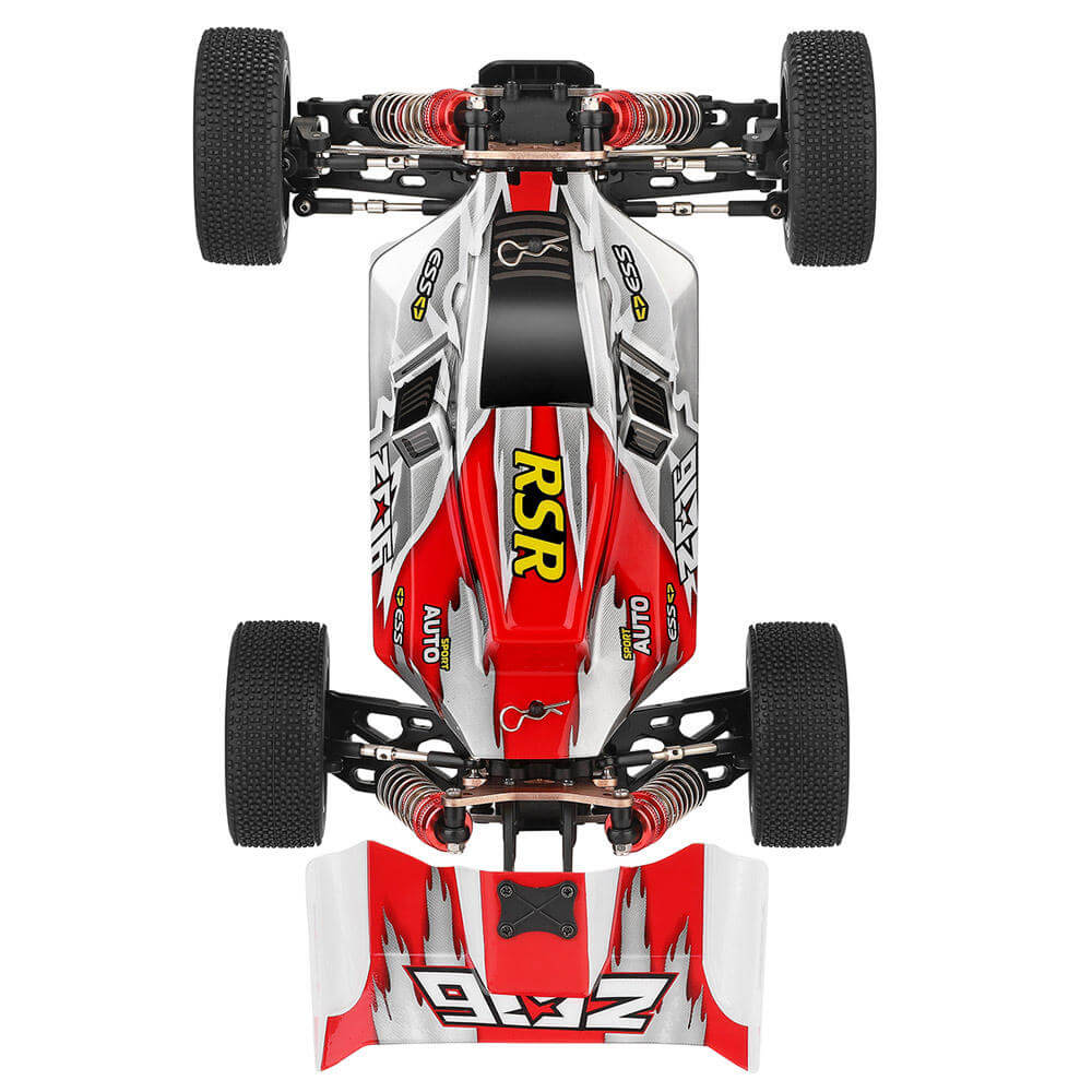 RCmind™ RC car with High-Speed 4WD for Off-Road Top View