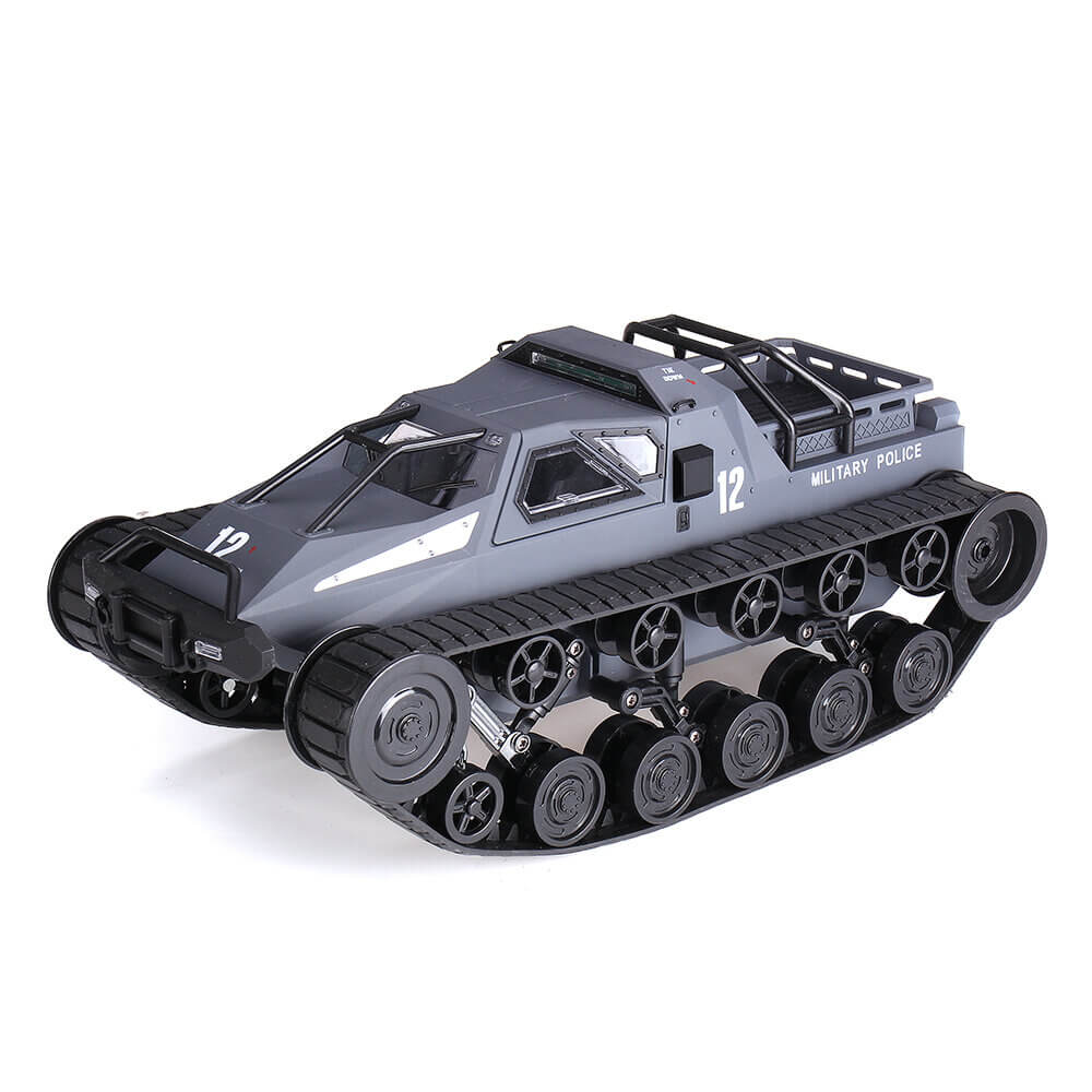 Dark Grey RcMind™ Remote Control Tank Car