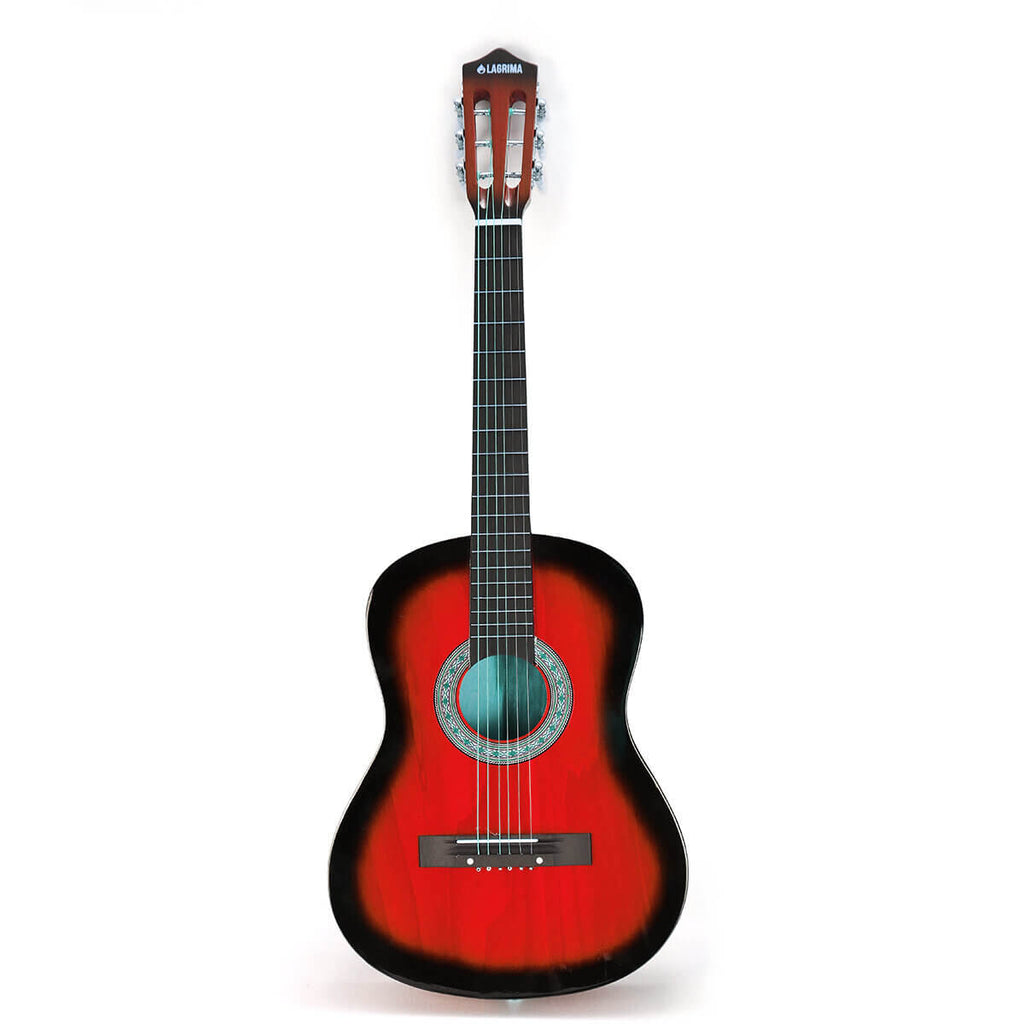 Red AcousticBoy™ Guitar for Beginner with Case, Strap, Tuner, Pick, Strings