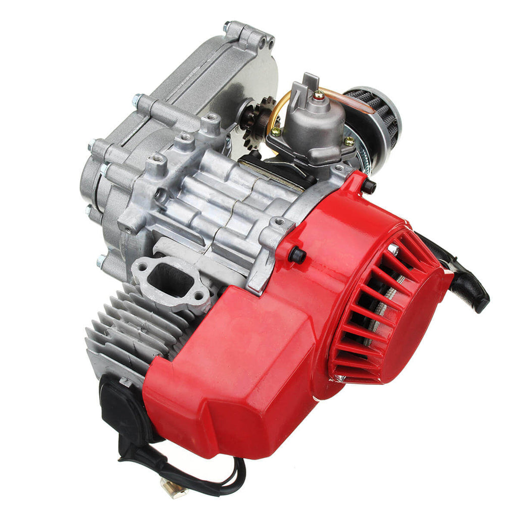 DirtMoto™ 2 Stroke Engine with Transmission for Mini Moto Dirt Bike 49cc