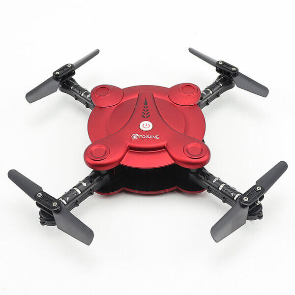 Red Bargainova™ Foldable Mini Drone with HD Camera