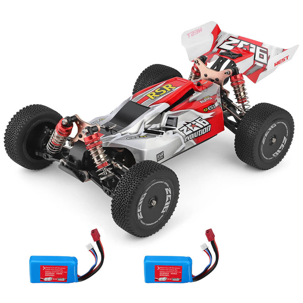 RCmind™ RC car with High-Speed 4WD for Off-Road