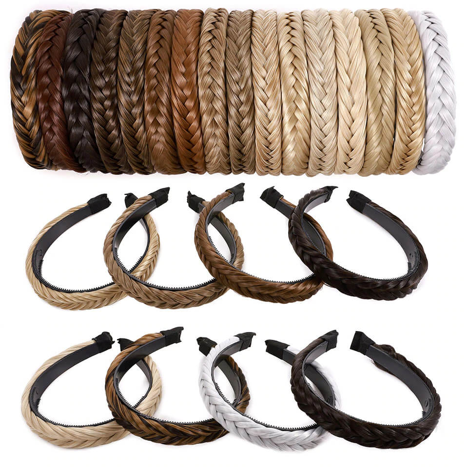 Bargainova™ Braided Hair Headband