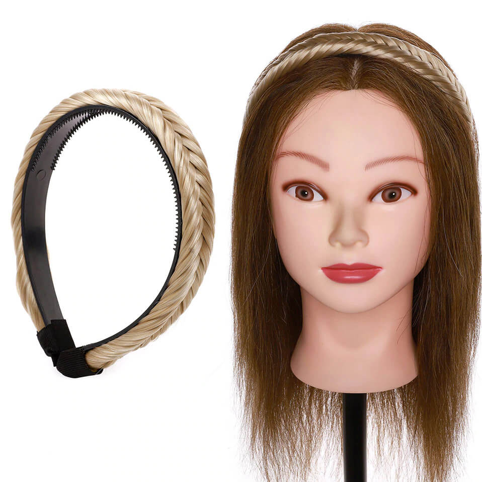 LuxDiva™ Braided Hair Headband