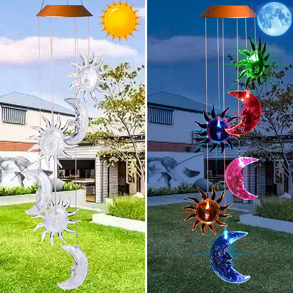 SolarStar™ Outdoor Garden Patio Decor Waterproof Solar Wind Chime Light