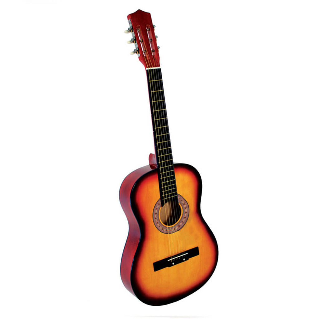 Sunset AcousticBoy™ Guitar for Beginner with Case, Strap, Tuner, Pick, Strings