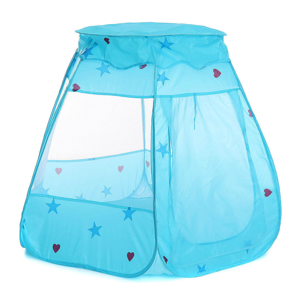 Blue TentRus™ Tent and Ball Pit for Toddlers, or Kids