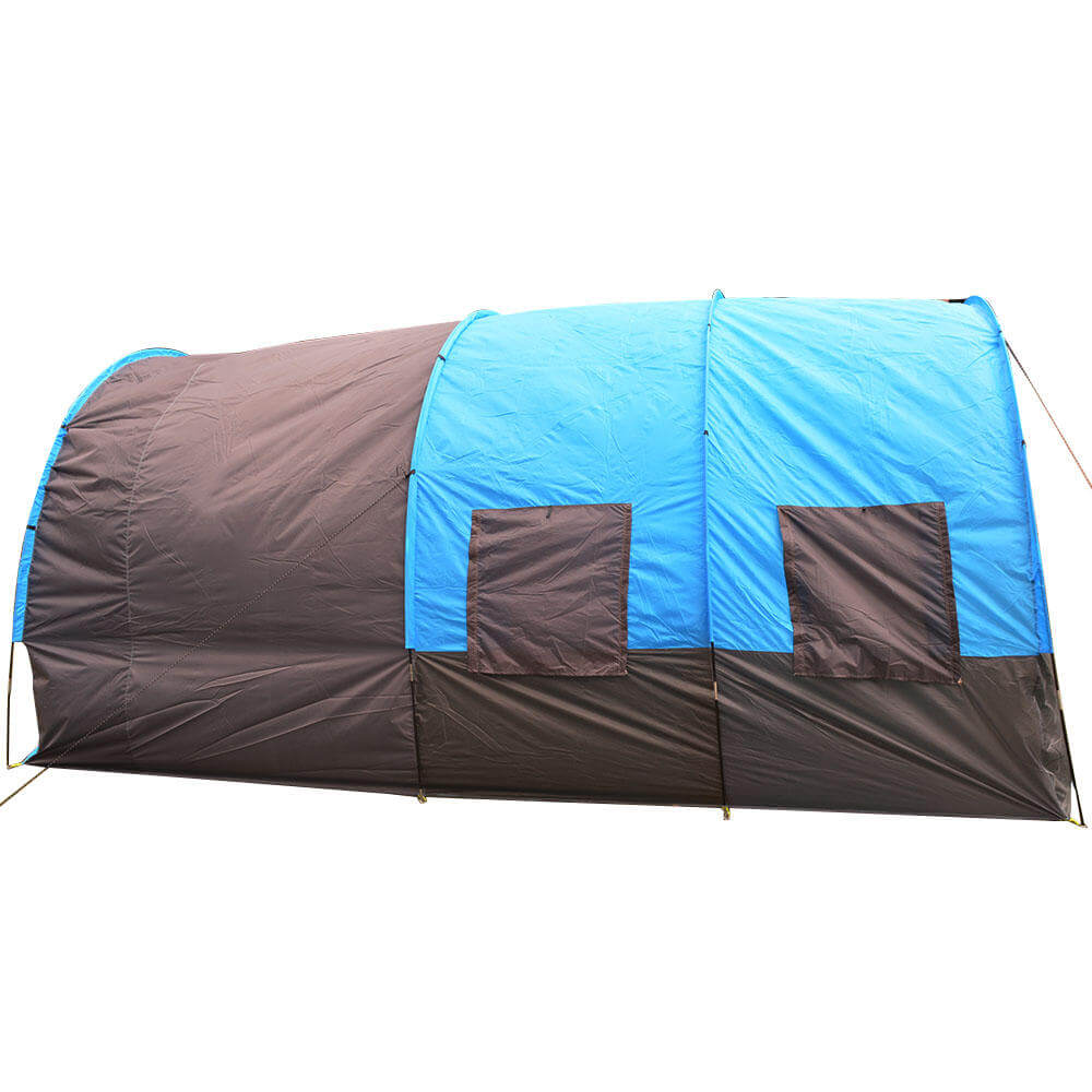 Blue TentRus™ Waterproof Camping Tent for Big Family 8 - 10 Person