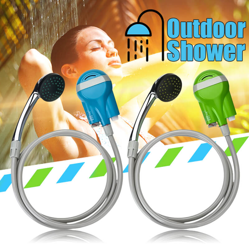 Travelmate™ Portable Hand Held Shower Head for Camping or Travel