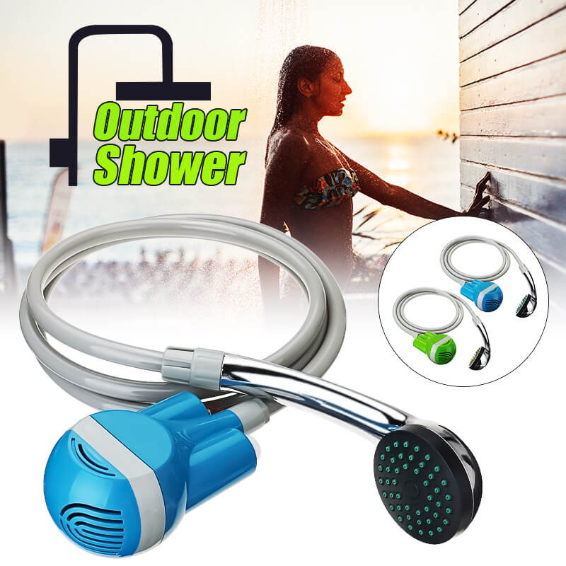 Travelmate™ Portable Hand Held Shower Head for Camping or Travel Charging