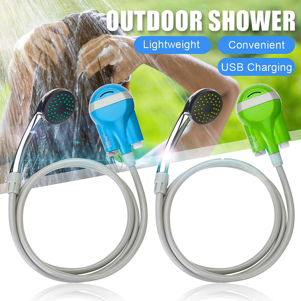 Lightweight Travelmate™ Portable Hand Held Shower Head for Camping or Travel