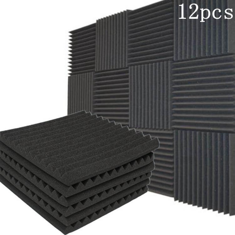 USFoam™ Acoustic Foam Panels for Soundproof Studio and Home Theater