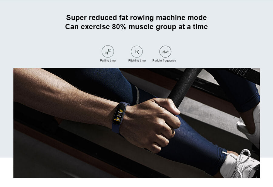 Xiaomi Mi band 5 Smart Watch Machine Mode | Bargainova™