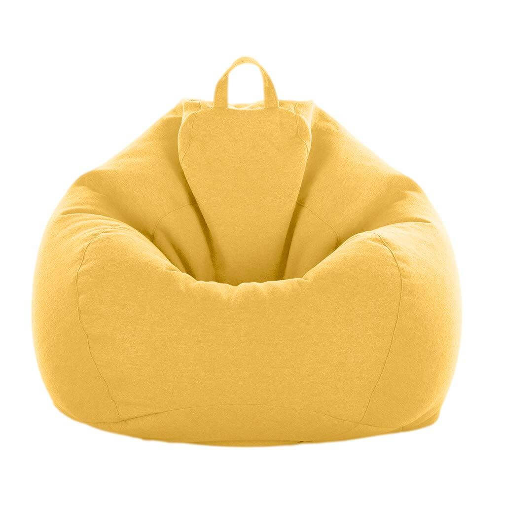 Yellow ChairWorld™ Bean Bag Chair for Adults and Kids