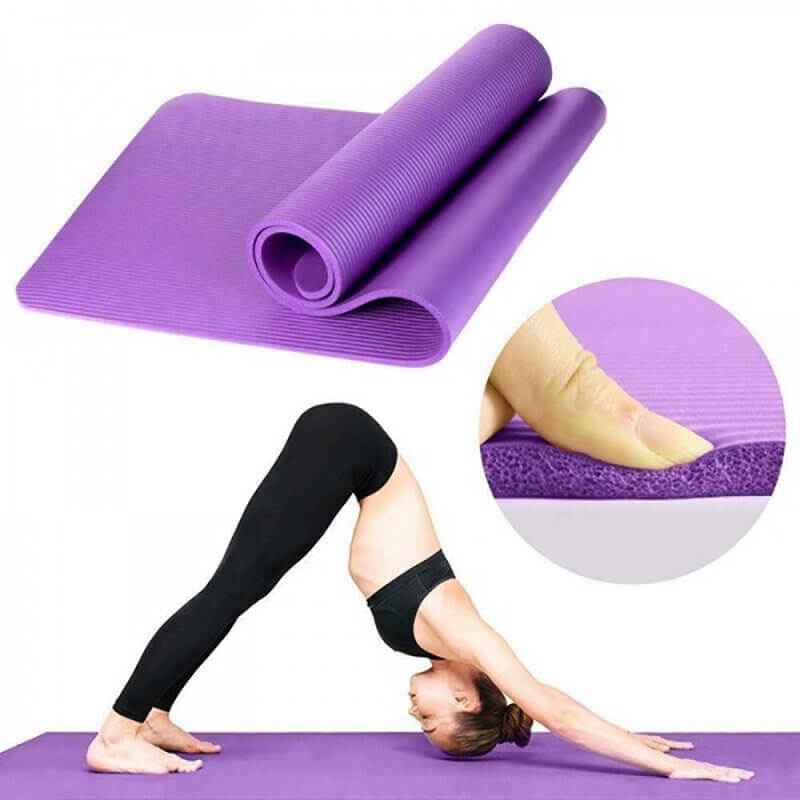 YogaCode™ Yoga Exercise Pad with Thick Anti-slip Mat