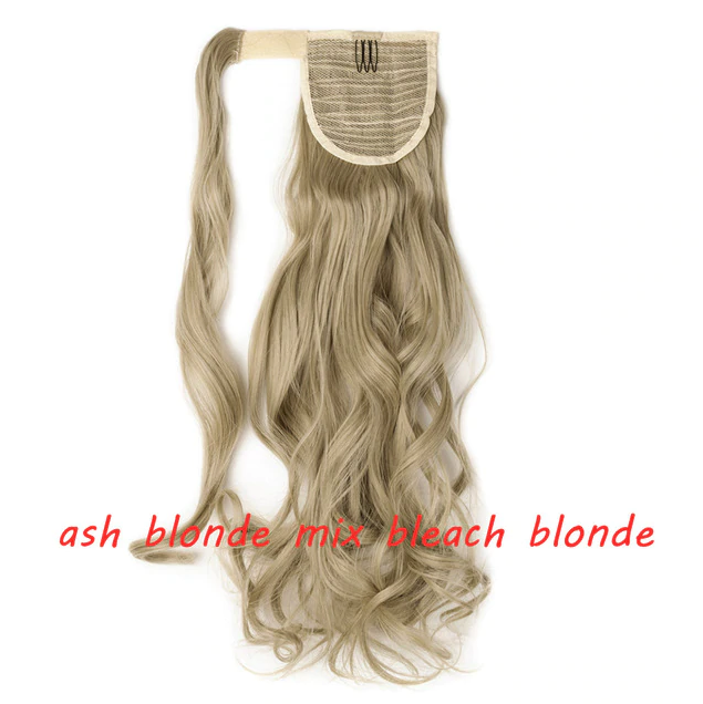 LuxDiva™ Best Hair Extensions Clip in Ponytail Straight or Curly 23 inch Length