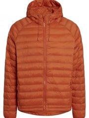 Knowledge Cotton Apparel Men - Eco Hood Jacket 1308 (rust) - €199.95 -20%