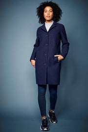 LangerChen Women Coat - Classical (navy)- €299.00 -20%