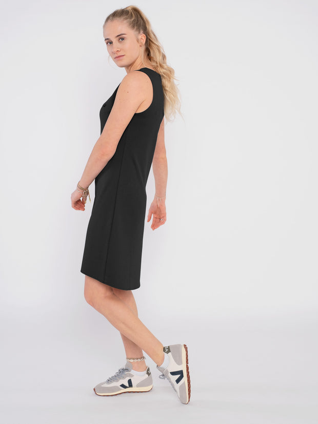 Summer Women Dress black (sleeveless) - ERDBÄR #Worldchanger