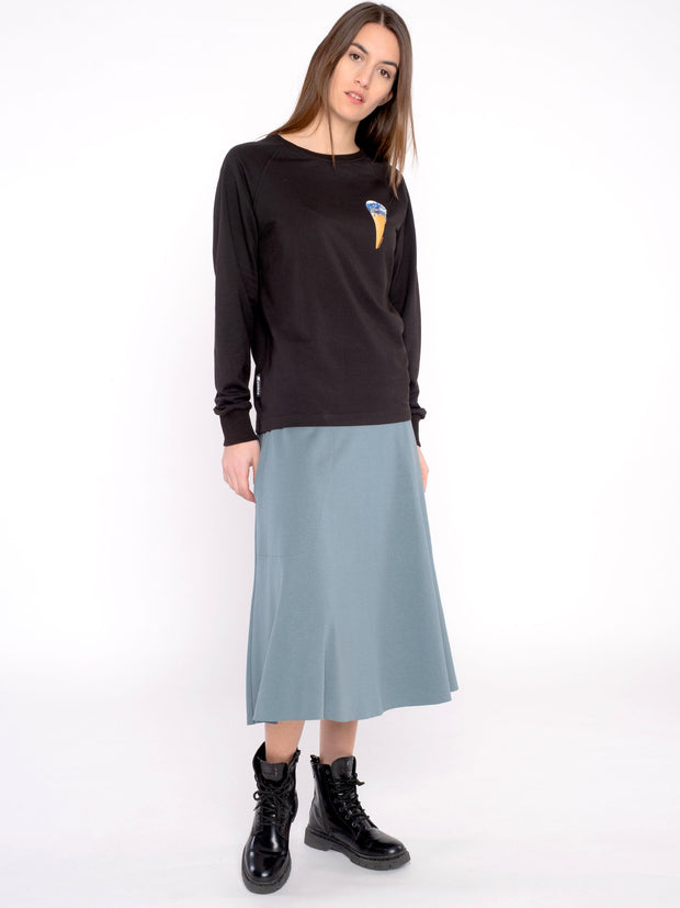 Unique Women Skirt Blue (long) - ERDBÄR #Worldchanger