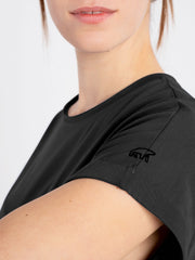 Women Dress black (short sleeves) - ERDBÄR #Worldchanger
