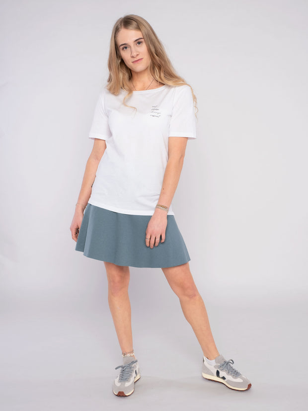 Unique Women Skirt Blue - ERDBÄR #Worldchanger