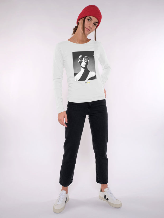 Damen Longsleeve - ZERO WASTE be creative