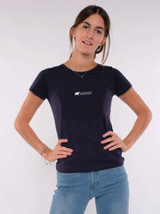 Women T-Shirt (blue) - ERDBÄR Logo