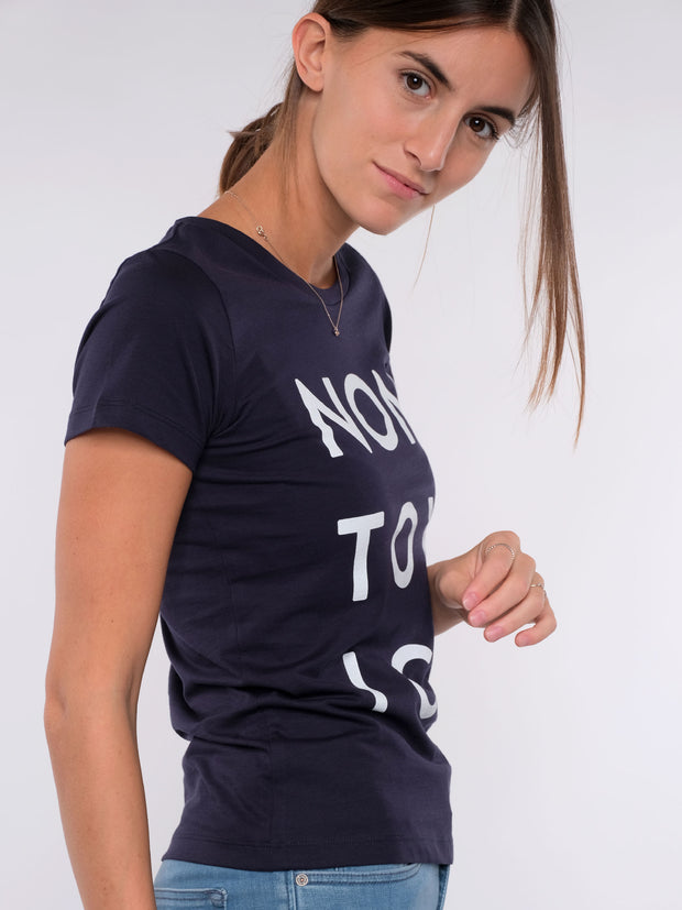 Women T-Shirt (blue) - NON TOXIC