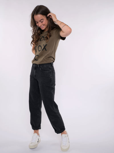 Damen T-Shirt (olive) - NON TOXIC Style