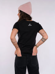 Women T-Shirt (black) - ERDBÄR Logo