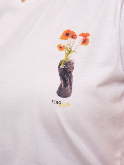 Women T-Shirt - ZERO WASTE flower can