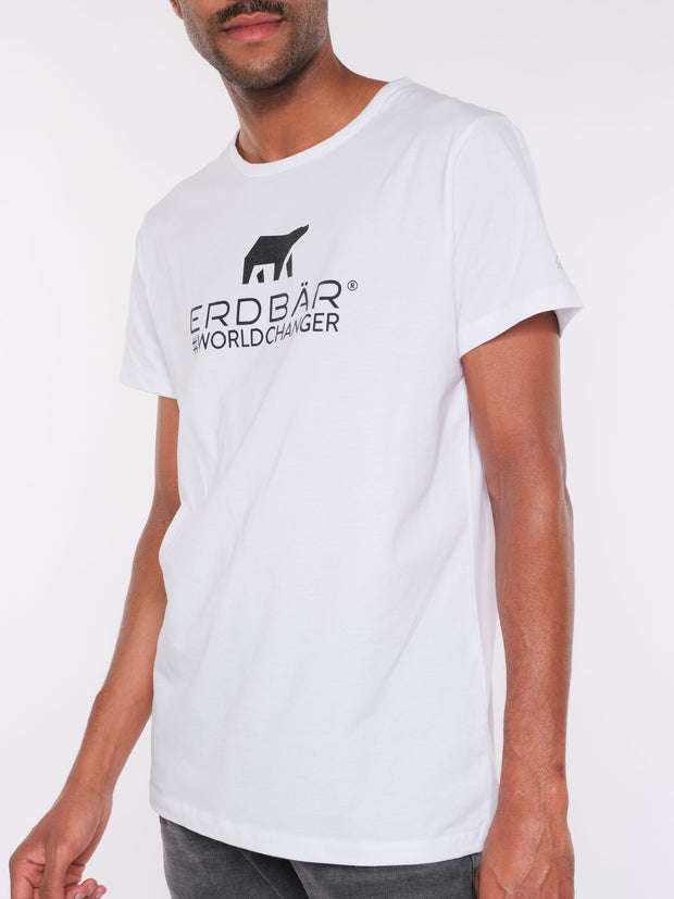 Men T-Shirt (white) - ERDBÄR Logo