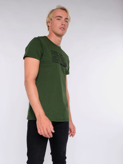 Herren T-Shirt - Trying to change the World Style
