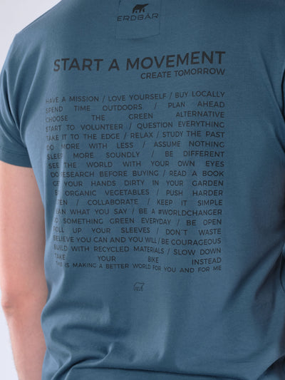 Herren T-Shirt START A MOVEMENT (hydro)