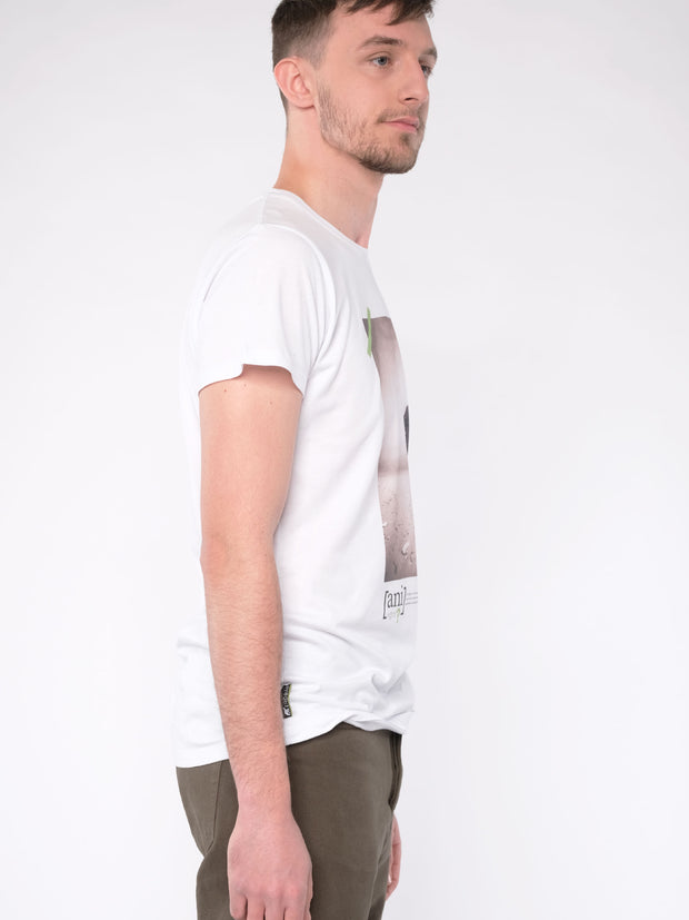 WITH THIS STYLE YOU SUPPORT! - animal revolution 06 / Men T-Shirt (white)