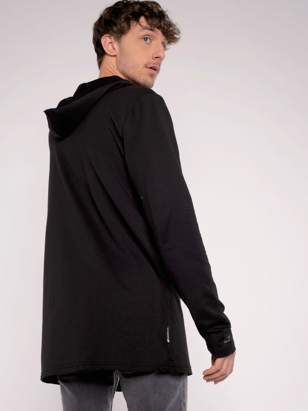 Men Cardigan pirate Black ERDBÄR - ERDBÄR #Worldchanger
