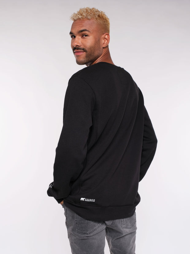 Cozy Men Sweater (black)