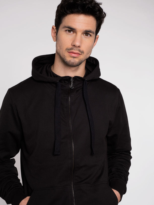 Men Zip-Hoodie pirate Black ERDBÄR - ERDBÄR #Worldchanger