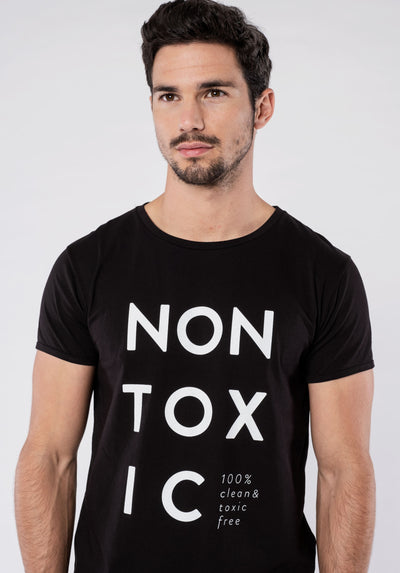 Men T-Shirt - NON-TOXIC (black)