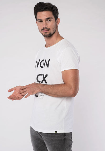 Men T-Shirt - NON-TOXIC (white)