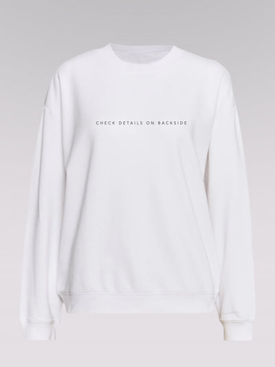 Women Sweater - Innovation (white)